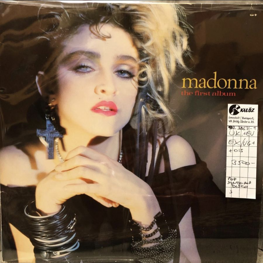 Madonna The First Album used vinyl | Kalóz Record Store Budapest